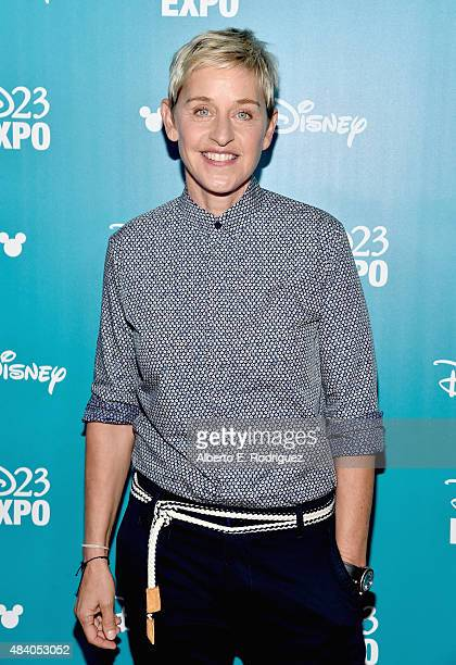 Actress Ellen DeGeneres of FINDING DORY took part today in Pixar and Walt Disney Animation Studios The Upcoming Films presentation at Disney's D23...