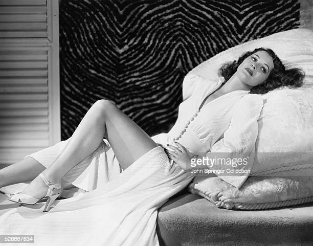 Actress Ellen Drew around the time of her appearance in the 1941 movies The Monster and the Girl and Reaching for the Sun
