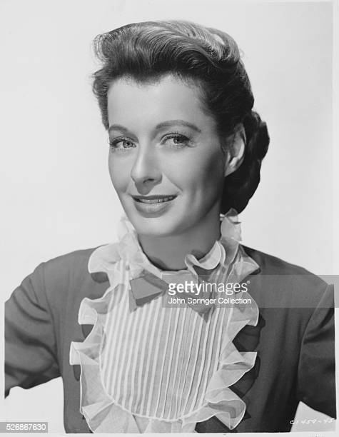 Actress Ellen Drew at the time of her appearance in the 1950 movie Stars in My Crown