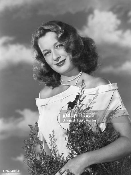 Actress Ellen Drew Publicity Portrait Late 1940's
