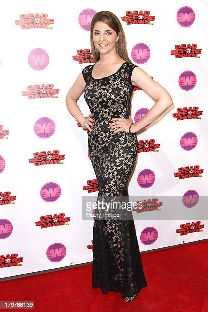 Actress Ellen Dubin arrives at Dead Before Dawn 3D premiere at Mann Chinese 6 on September 6 2013 in Los Angeles California