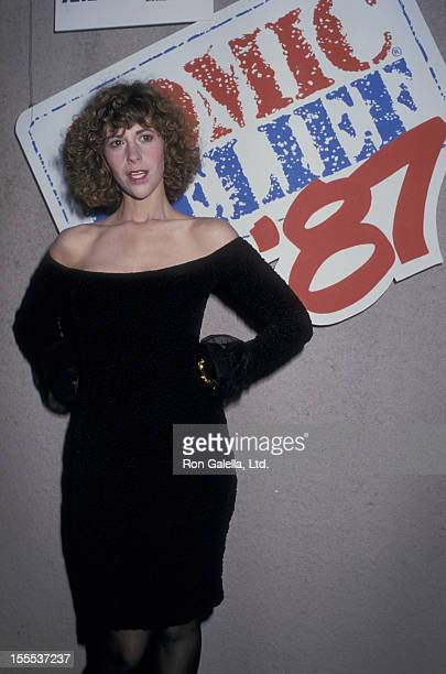 Actress Ellen Greene attends Comic Relief Benefit on November 14 1987 at the Universal Ampitheater in Universal City California