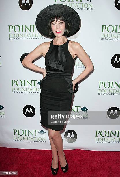 Actress Ellen Greene attends Point Foundation's Point Honors Benefit at Jim Henson Studios on September 13 2008 in Los Angeles California