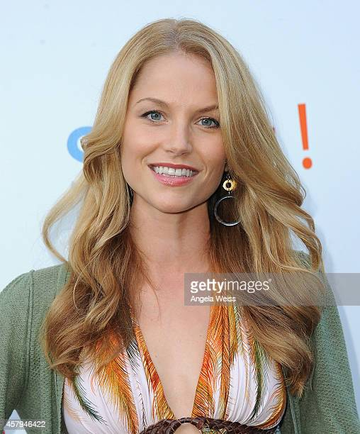 Actress Ellen Hollman arrives at the 3rd Annual Saving SPOT Dog Rescue Benefit held at Tiato on October 26 2014 in Santa Monica California