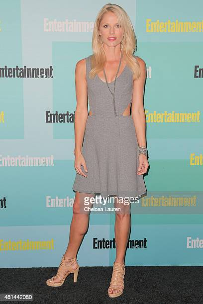 Actress Ellen Hollman arrives at the Entertainment Weekly celebration at Float at Hard Rock Hotel San Diego on July 11 2015 in San Diego California