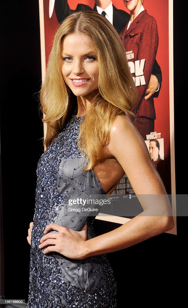 Actress Ellen Hollman arrives at the Los Angeles premiere of 'Hitchcock' at the Academy of Motion Picture Arts and Sciences on November 20, 2012 in Beverly Hills, California.