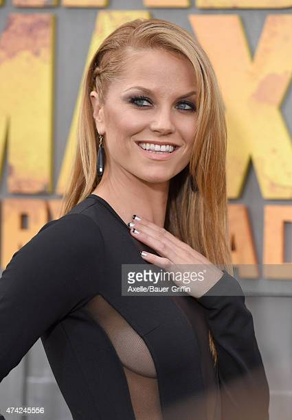 Actress Ellen Hollman arrives at the Los Angeles premiere of 'Mad Max: Fury Road' at TCL Chinese Theatre IMAX on May 7, 2015 in Hollywood, California.