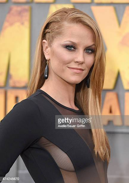 Actress Ellen Hollman arrives at the Los Angeles premiere of 'Mad Max Fury Road' at TCL Chinese Theatre IMAX on May 7 2015 in Hollywood California