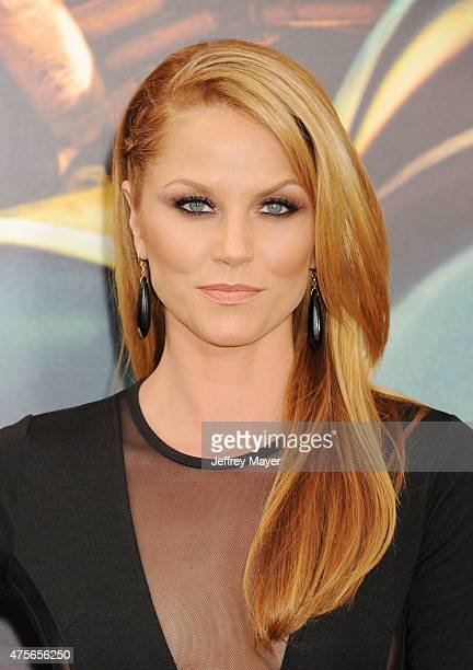 Actress Ellen Hollman arrives at the Mad Max Fury Road Los Angeles Premiere at TCL Chinese Theatre IMAX on May 7 2015 in Hollywood California
