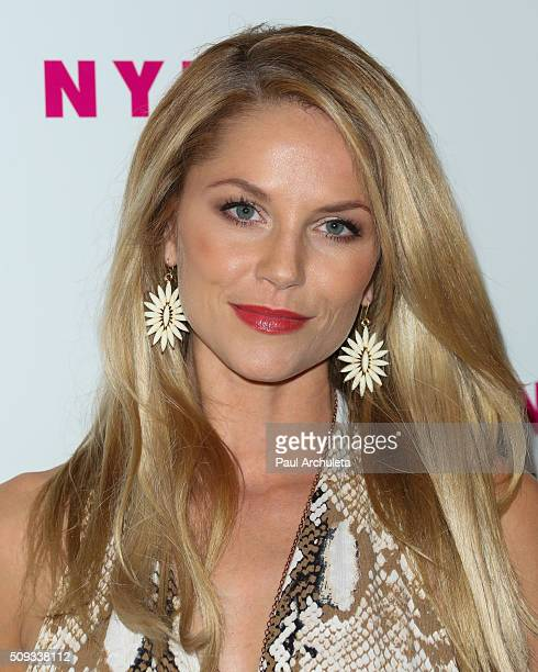Actress Ellen Hollman attends NYLON Magazine's Muses And Music Party at No Vacancy on February 9 2016 in Los Angeles California