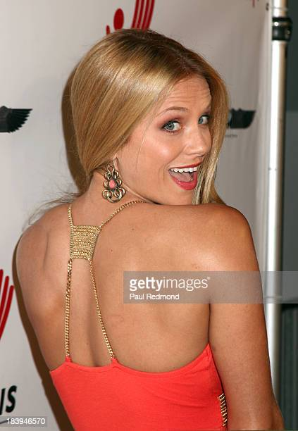 Actress Ellen Hollman attends Philhellenes Gala at SkyBar at the Mondrian Los Angeles on October 9 2013 in West Hollywood California