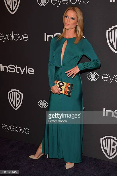 Actress Ellen Hollman attends the 18th Annual Post-Golden Globes Party hosted by Warner Bros. Pictures and InStyle at The Beverly Hilton Hotel on...