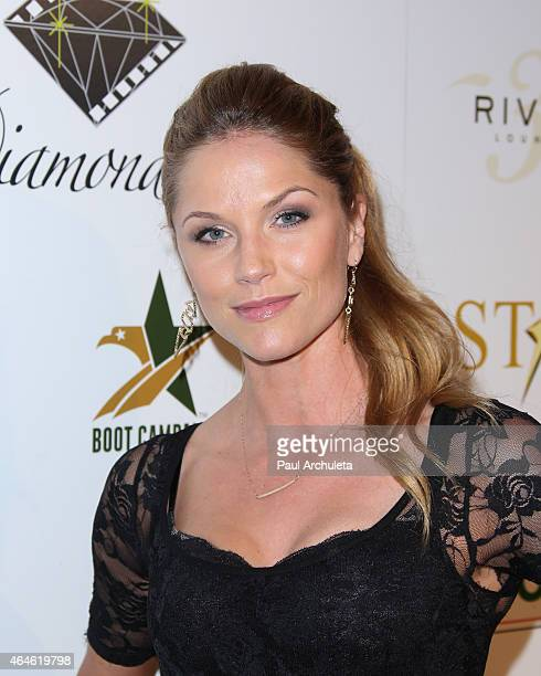 Actress Ellen Hollman attends the 1st annual Startuch Charity Gala at Riviera 31 on February 26 2015 in Beverly Hills California
