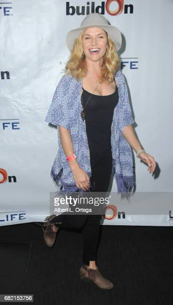 Actress Ellen Hollman attends the BuildOn Benefit Concert held at The Roxy Theatre on May 11, 2017 in Westwood, California.