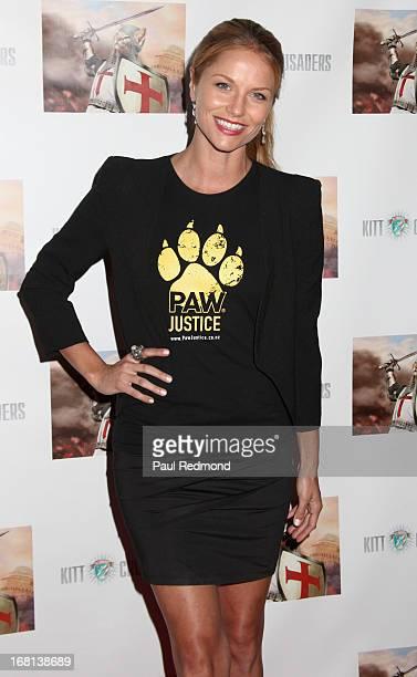 Actress Ellen Hollman attends the 'Cinco De Gato' charity event at La Descarga on May 5 2013 in Hollywood California