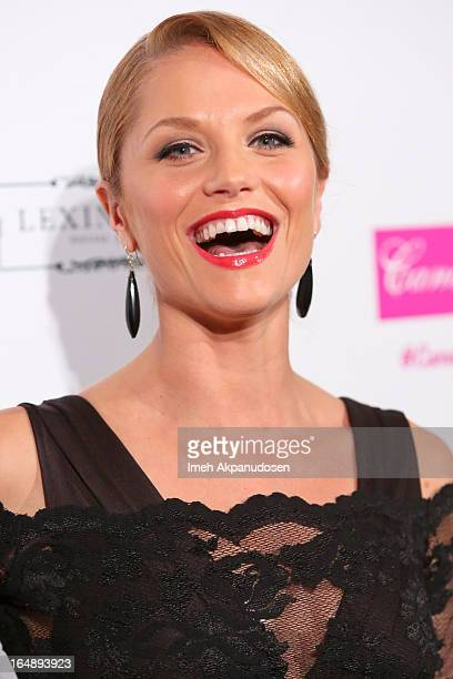 Actress Ellen Hollman attends the Fire Ice Gala Benefiting Fresh2o at Lexington Social House on March 28 2013 in Hollywood California