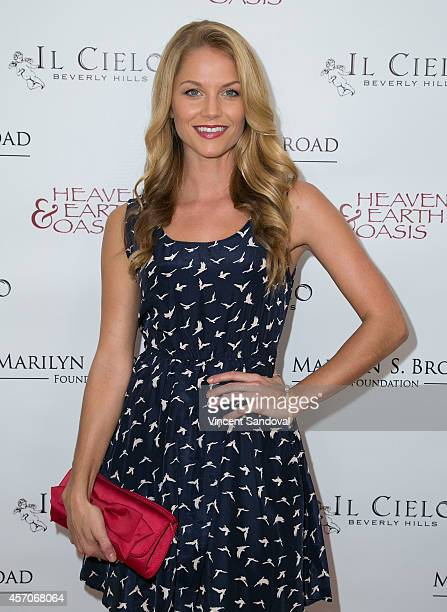 Actress Ellen Hollman attends the Heaven and Earth Oasis Charity fundraiser at Il Cielo on October 11, 2014 in Beverly Hills, California.