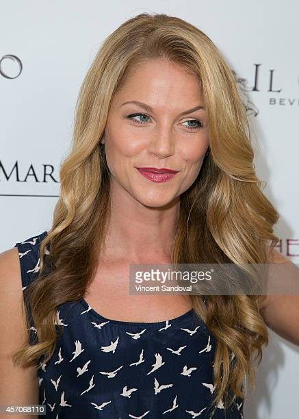 Actress Ellen Hollman attends the Heaven and Earth Oasis Charity fundraiser at Il Cielo on October 11 2014 in Beverly Hills California