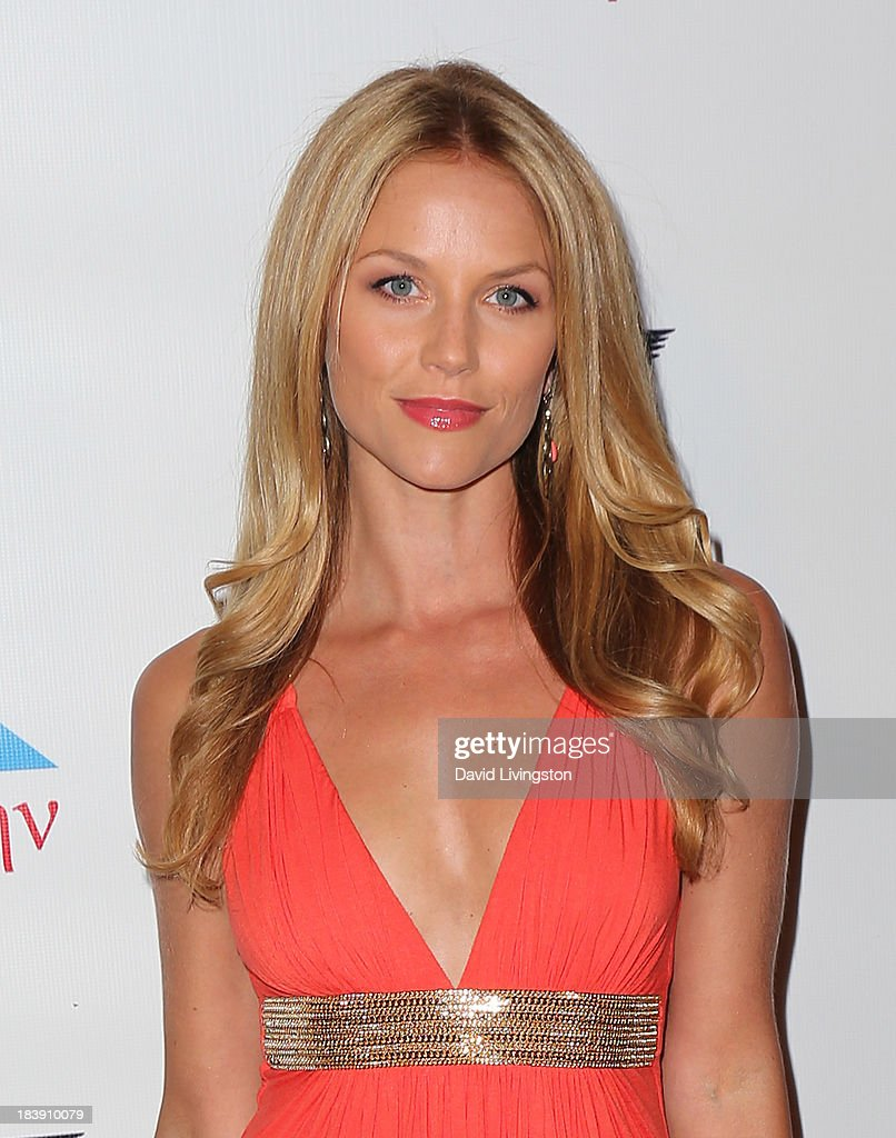 Actress Ellen Hollman attends the Philhellenes Gala at SkyBar at the Mondrian Los Angeles on October 9, 2013 in West Hollywood, California.
