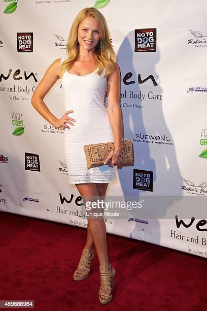 Actress Ellen Hollman attends the Putting For Pups Golf Tournament And Gala Brookside Golf Club on September 13 2015 in Pasadena California