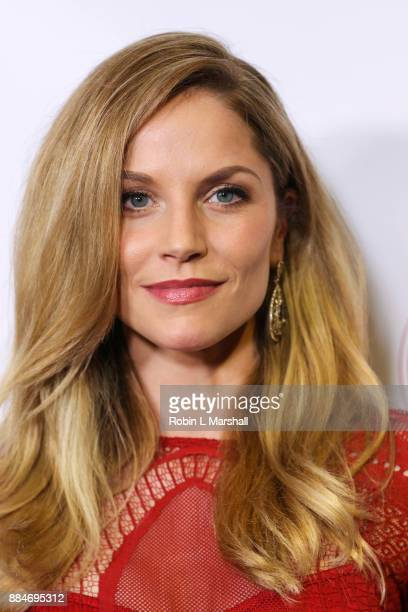 Actress Ellen Hollman attends the TJ Scott Book Launch for 'In The Tub Volume 2' at Cinematic Pictures Group Gallery on December 2 2017 in Hollywood...