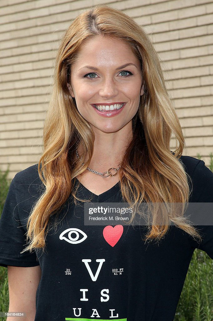 Actress Ellen Hollman of the cast of Starz 'Spartacus: War Of The Damned' lend support at the 2013 Visual Impact Now Annual Eye Clinic Event on March 20, 2013 in Los Angeles, California.