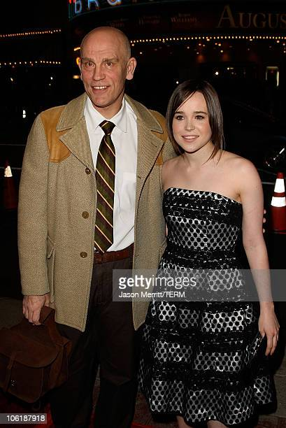 Actress Ellen Page arrives to the premiere of Fox Searchlight's Juno at the Vilage Theater in Westwood California on December 3 2007