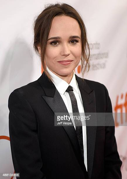 "Actress Ellen Page attends the ""Freeheld"" premiere during the 2015 Toronto International Film Festival at Roy Thomson Hall on September 13, 2015 in..."
