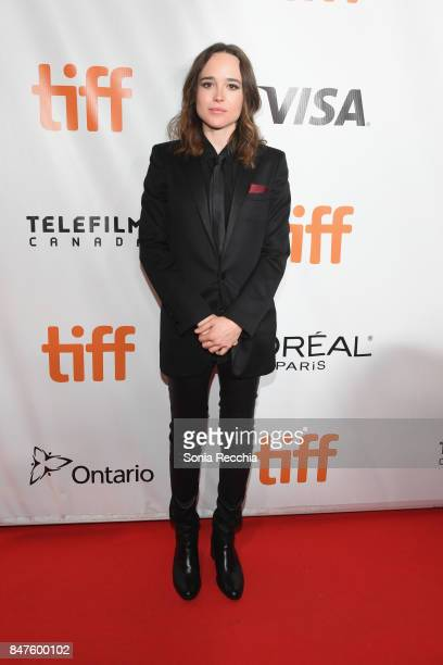 Actress Ellen Page attends the My Days Of Mercy premiere during the 2017 Toronto International Film Festival at Roy Thomson Hall on September 15 2017...