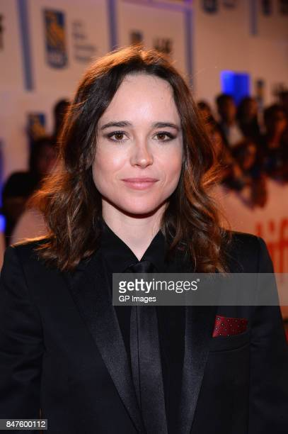 Actress Ellen Page attends the 'My Days Of Mercy' premiere during the 2017 Toronto International Film Festival at Roy Thomson Hall on September 15...