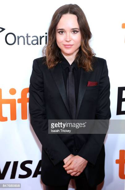 Actress Ellen Page attends the 'My Days of Mercy' premiere during the 2017 Toronto International Film Festival at Roy Thomson Hall on September 15,...