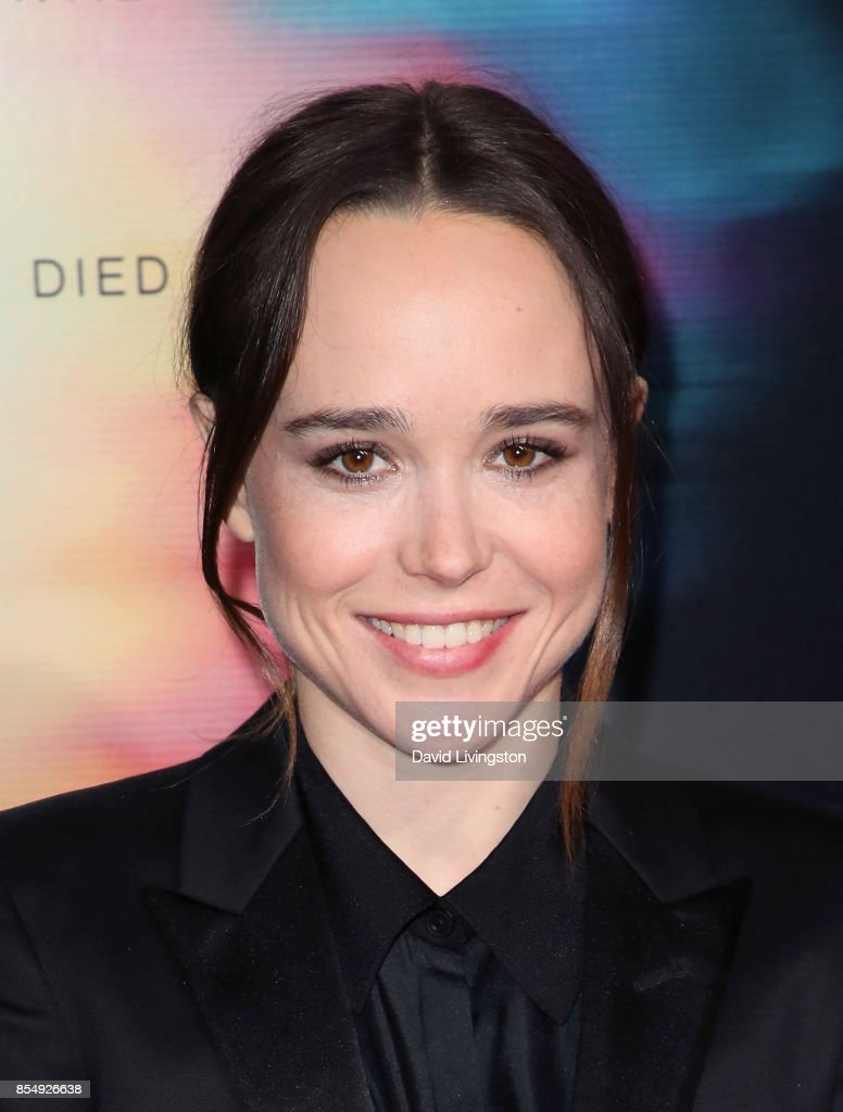 Actress Ellen Page attends the premiere of Columbia Pictures' 'Flatliners' at The Theatre at Ace Hotel on September 27, 2017 in Los Angeles, California.