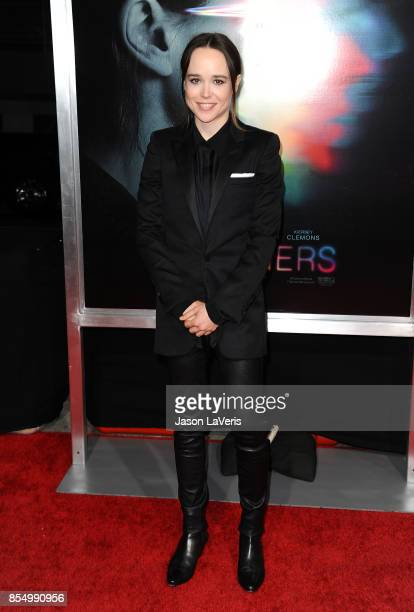 Actress Ellen Page attends the premiere of Flatliners at The Theatre at Ace Hotel on September 27 2017 in Los Angeles California