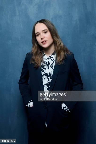 Actress Ellen Page from the film My Days of Mercy poses poses for a portrait at the 2017 Toronto International Film Festival for Los Angeles Times on...