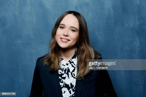 "Actress Ellen Page from the film, ""My Days of Mercy,"" poses poses for a portrait at the 2017 Toronto International Film Festival for Los Angeles..."
