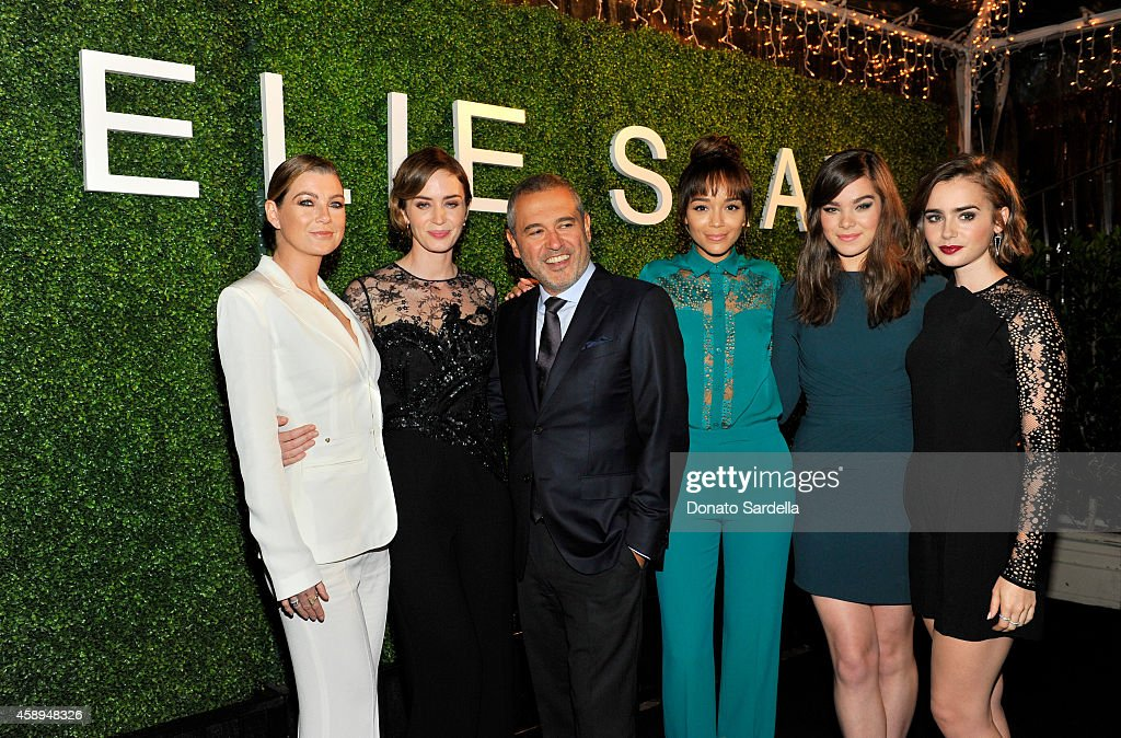 Private Elie Saab Dinner #ElieSaabLA : News Photo