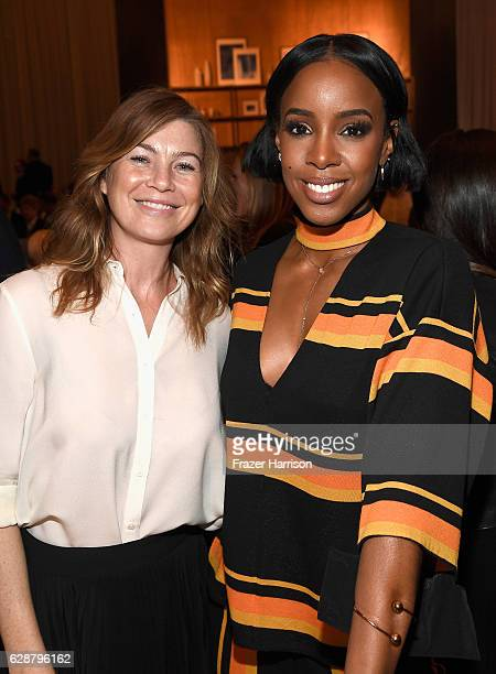 Actress Ellen Pompeo and musician Kelly Rowland attend 2016 March of Dimes Celebration of Babies at the Beverly Wilshire Four Seasons Hotel on...
