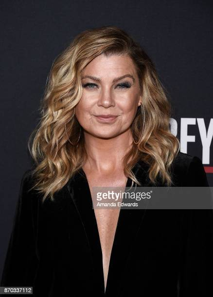 Actress Ellen Pompeo arrives at the 300th Episode Celebration for ABC's 'Grey's Anatomy' at TAO Hollywood on November 4 2017 in Los Angeles California