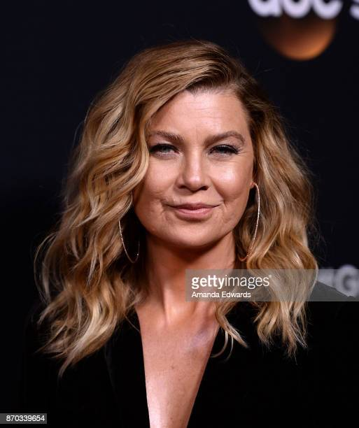 Actress Ellen Pompeo arrives at the 300th Episode Celebration for ABC's Grey's Anatomy at TAO Hollywood on November 4 2017 in Los Angeles California