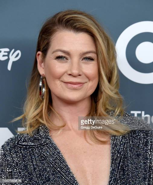 Actress Ellen Pompeo arrives at the GLSEN Respect Awards at the Beverly Wilshire Four Seasons Hotel on October 19 2018 in Beverly Hills California