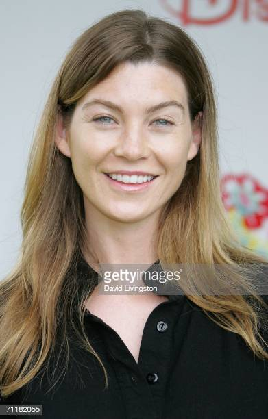 Actress Ellen Pompeo attends A Time for Heroes Celebrity Carnival sponsored by Disney to benefit the Elizabeth Glaser Pediatric AIDS Foundation on...
