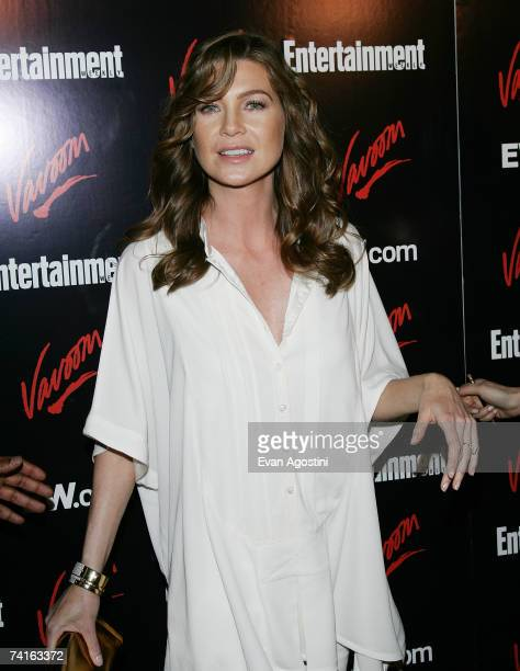 Actress Ellen Pompeo attends Entertainment Weekly and Vavoom's Network Upfront party at The Box, May 15, 2007 in New York City.