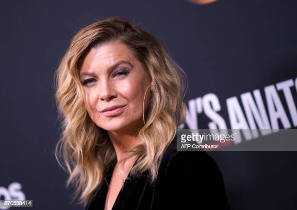 Actress Ellen Pompeo attends the 300th Grey's Anatomy Episode Celebration on November 4 in Hollywood California / AFP PHOTO / VALERIE MACON