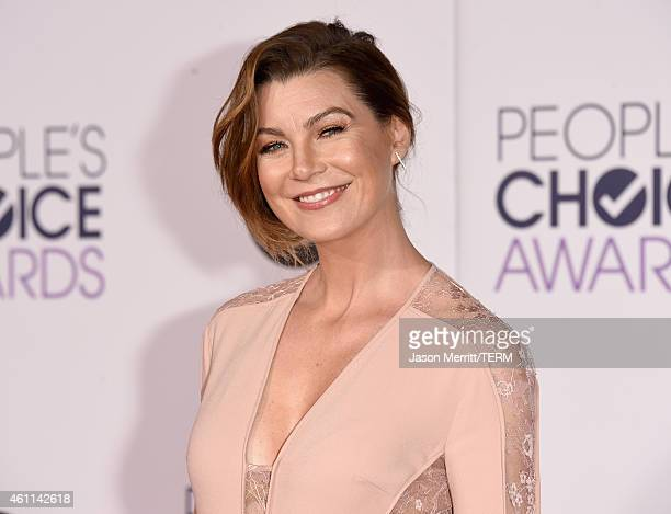 Actress Ellen Pompeo attends The 41st Annual People's Choice Awards at Nokia Theatre LA Live on January 7, 2015 in Los Angeles, California.