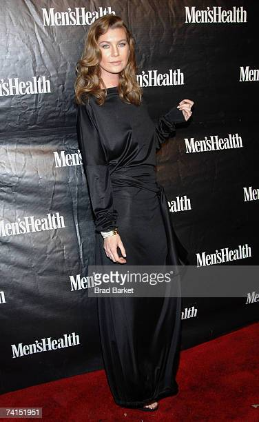Actress Ellen Pompeo attends the Men's Health Magazine Party at Tenjune May 14, 2007 in New York City.