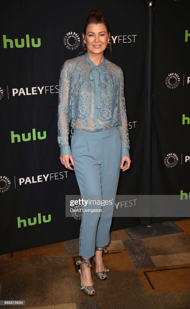 "The Paley Center For Media's 34th Annual PaleyFest Los Angeles - ""Grey's Anatomy"" - Arrivals : News Photo"