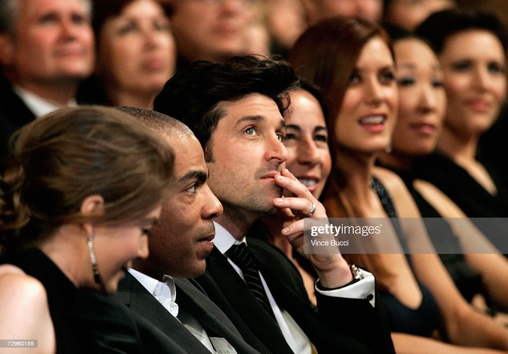 Actress Ellen Pompeo Christopher Ivery And Actor Patrick Dempsey