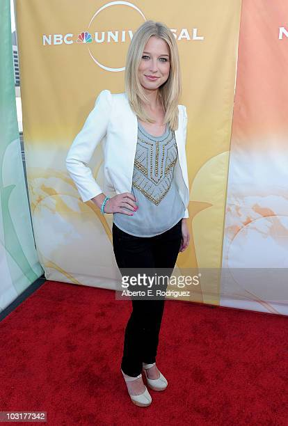 Actress Ellen Woglom arrives to NBC Universal's 2010 TCA Summer Party on July 30, 2010 in Beverly Hills, California.