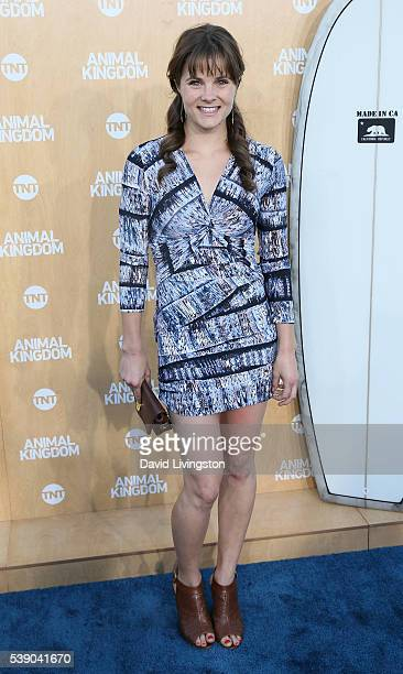 Actress Ellen Wroe attends the premiere of TNT's 'Animal Kingdom' at The Rose Room on June 8 2016 in Venice California
