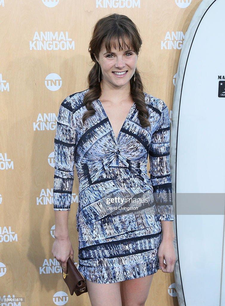 "Premiere Of TNT's ""Animal Kingdom"" - Arrivals : News Photo"